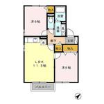 (内観/間取り1)霧島市 賃貸アパート 2LDK 45,5