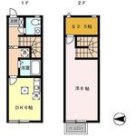 (内観/間取り1)霧島市 賃貸マンション 1DK 家賃:3