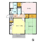 (内観/間取り1)霧島市 賃貸アパート 2DK 42,00